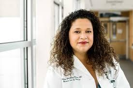 Dr. Melissa Martinez-Adorno, working to build trust in COVID-19 vaccine